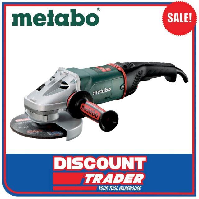 "Metabo 2400 Watt Angle Grinder 180mm 7"" - WE 24-180 MVT - 606468190"