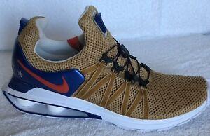 Nike Shox Gravity Mens AR1999-700 Metallic Gold Red Blue Team USA Olympic men/'s