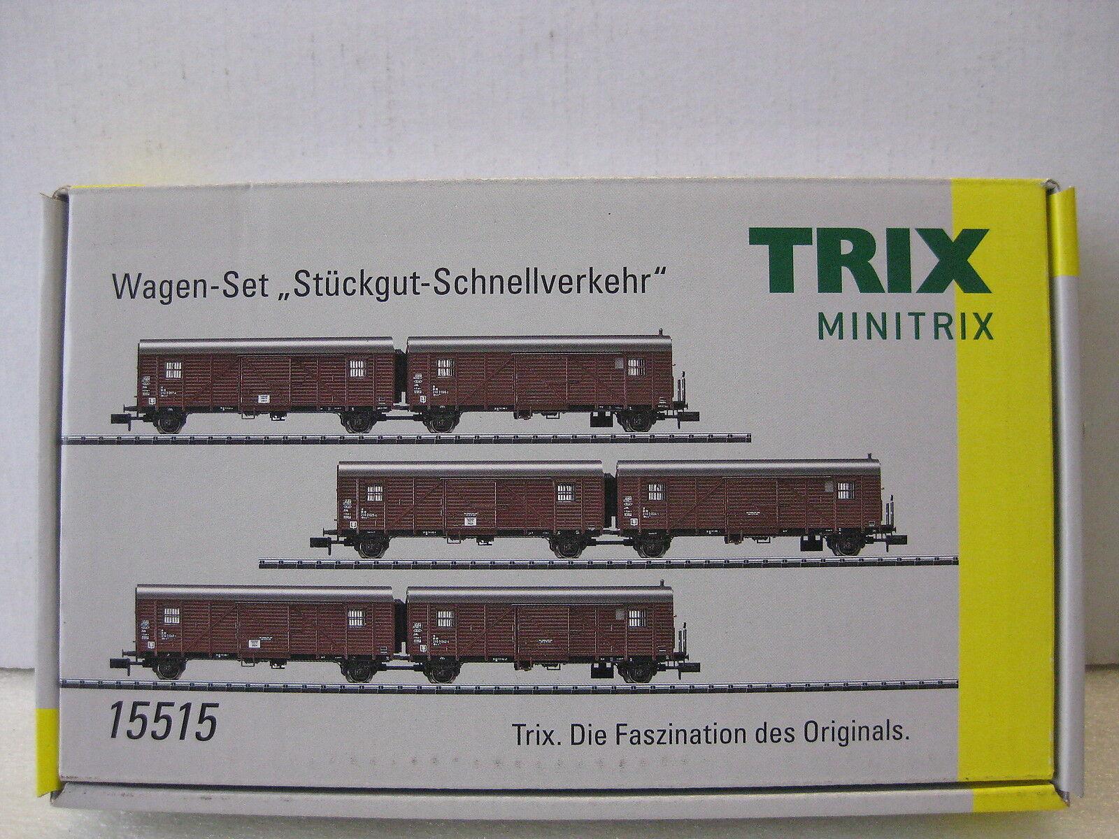 Trix Minitrix t15515 auto-set realizarse-rápido transporte DB mhi nuevo