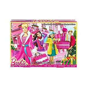 Barbie-Toy-Fashion-Doll-Advent-Calendar-24-Surprise-Items-Dresses-Clothes-Sh