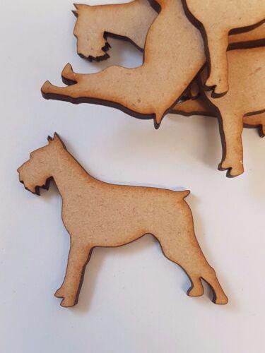 MDF Dog D 2cm 5cm 3cm Laser cut wooden shape 4cm