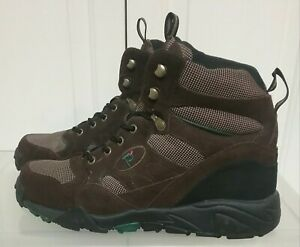 a879b0b3fa3 Details about Propet Men's Boots Shoes Camp Walker Hiking Camp Trail Brown  M3589 Sz 12 (3E)