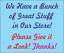 Honneur Boîte métal signe pour ferme stand Bait Shop ou bureau