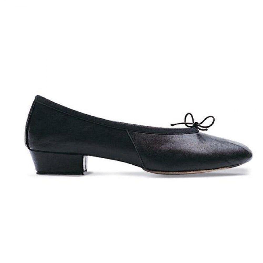 Bloch Paris INSEGNAMENTO shoes - black pelle con suola SEPARATA BALLETTO