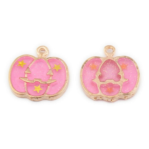 10pcs Jewelry Pendant Halloween Series Charms for Necklace Bracelet DIY Making