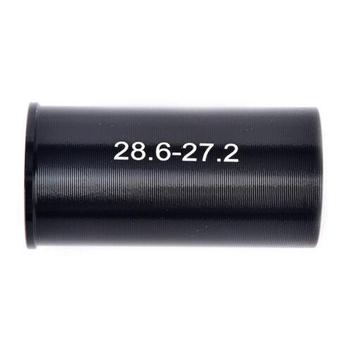 Bike Seat Post Tube Seatpost Reducing Sleeve Adapter Diameter 25.4-30.4   PE