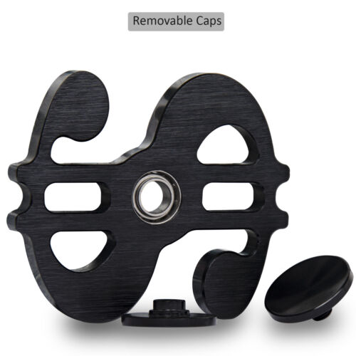 and Stress Relief Black Fidget Spinner Toy Hand Spinner Perfect for Anxiety