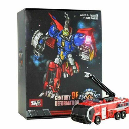 Transformers WJ Century of deformation Fire Truck Gift Action Figure Spielzeug
