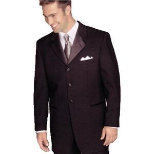 Mens Dinner Smart Suit Jacket Formal Black Tie Tuxedo Prom Wedding