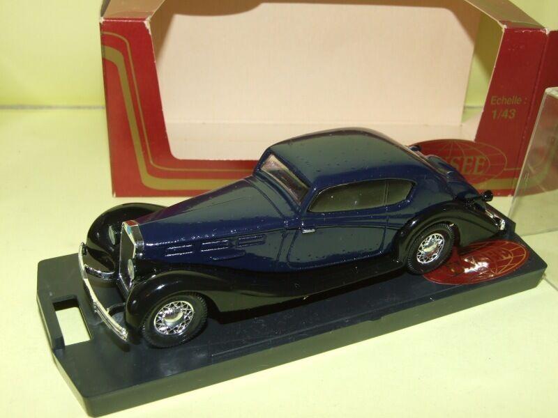 DELAGE COUPE 1938 Bleu ELYSEE 1 43 défaut default