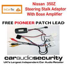 NISSAN 350Z Coupe Roadster comando dello sterzo BOSE adattatore per Pioneer Stereo