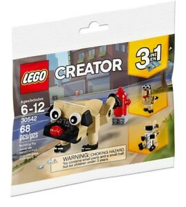Lego-Creator-Lindo-Pug-3-en-1-30542-Polybag-Bnip