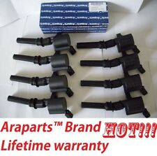 FORD 4.6L 5.4L V8 COMPLETE SET OF 8 IGNITION COILS DG508 FREE GREASE PACK!!!