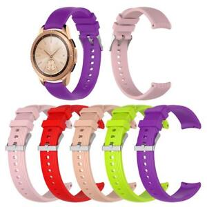 Image is loading 20mm,Silicone,Watchband,Bracelet,Strap,Replacement,For, Samsung,