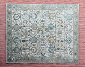 Old-Hand-Made-Traditional-Beige-Parsian-Heritage-Oriental-Wool-Area-Rug-amp-Carpet