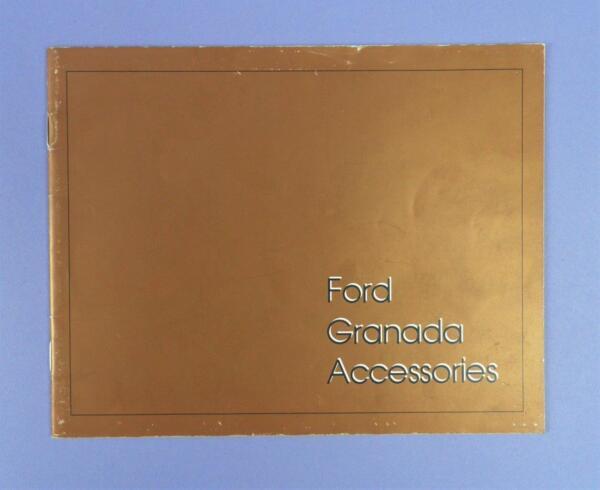 1977 Ford Granada Accessori Opuscolo