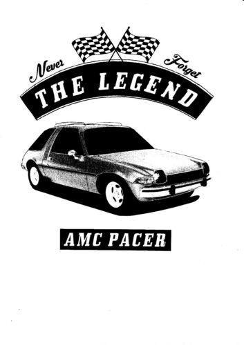 YOUNGTIMER US Car T-shirt Voiture AMC Pacer Oldtimer