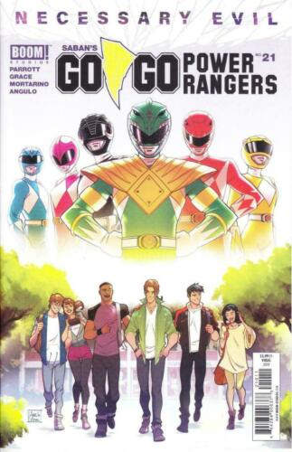 GO GO POWER RANGERS #21 1st PURPLE RANGER BOOM STUDIOS AMELIA VIDAL COVER A