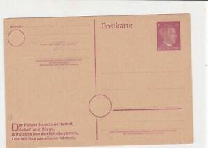 germany unused  stamps card ref 20974