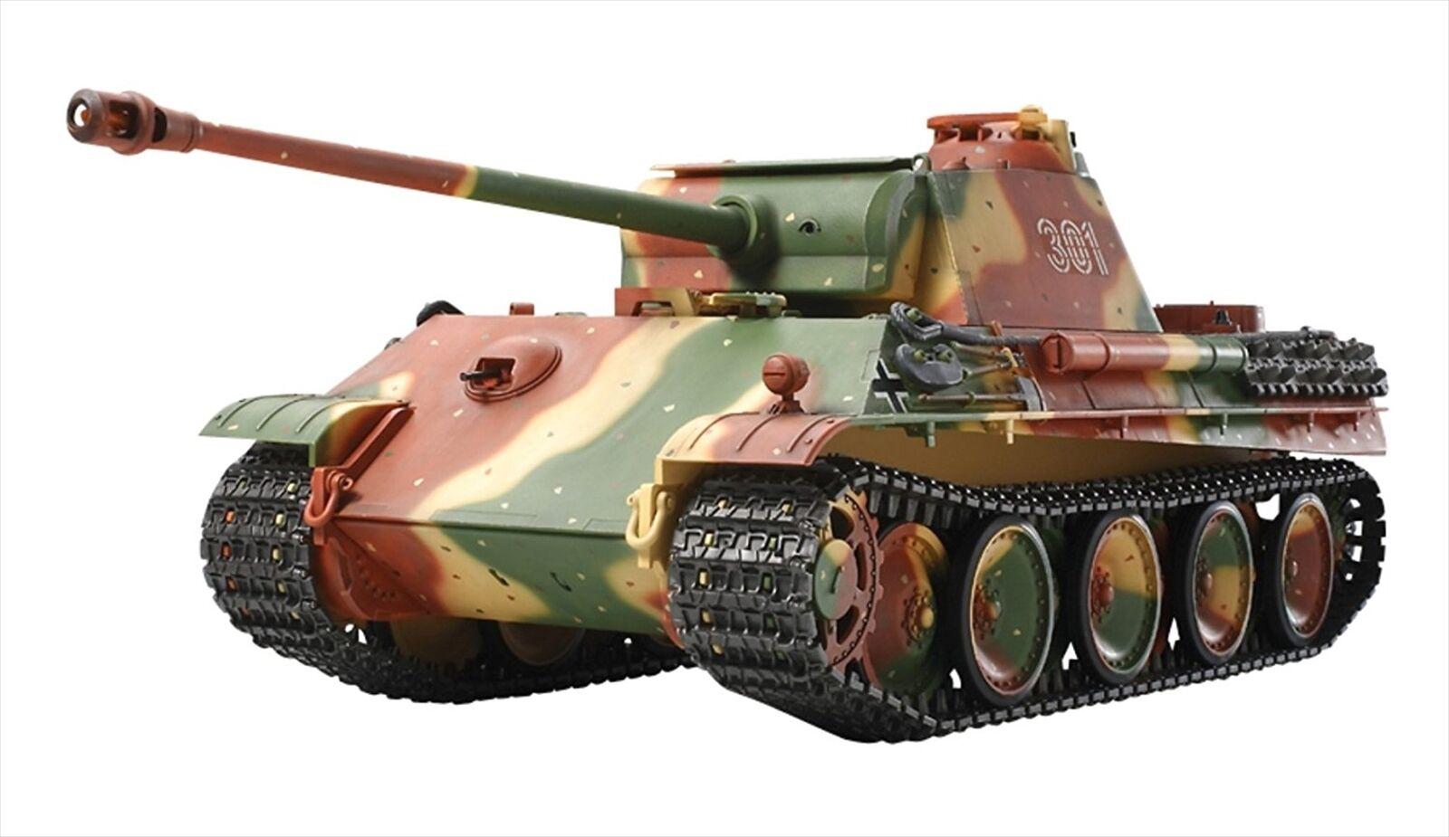 Tamiya  1 16 No.21 Geruomo V Panzer Panther G type Full Operation Set 56019  grandi risparmi