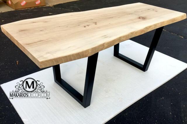 Joseph Allen Live Edge Coffee Table Aged Grey For Sale Online Ebay
