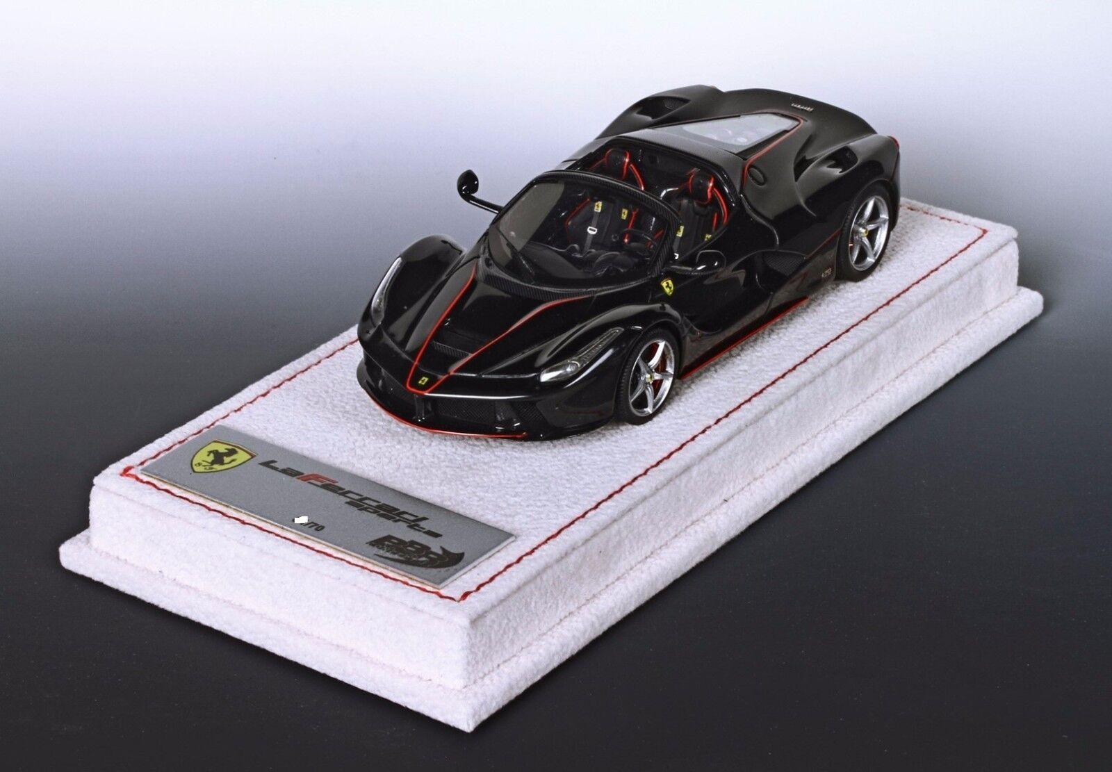 più economico Ferrari LaFerrari Aperta 2016 nero Daytona Daytona Daytona 1 43 lim.ed.70 pcs BBRC187A  vanno a ruba