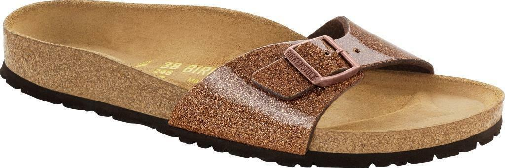 Birkenstock Madrid magic galaxy bronze 35,42,43 schmales Fußbett made in Germany