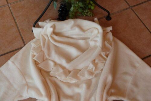 54 en Blanc Eg Boris Lagenlook polaire Shirt Laine 46 New Col Industries Sweat flottant ttq7p8