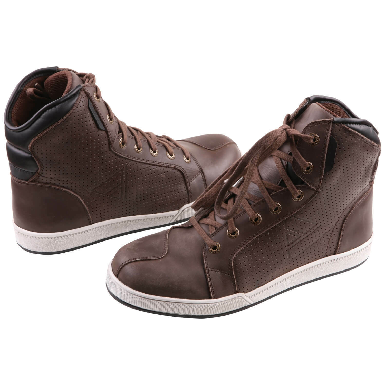 Modeka Midtown Men's Trainers Motorcycle Boots Leather - Braun