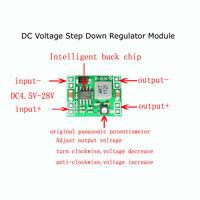 DC-DC 5V 12V 3A Adjustable Buck Converter Voltage Step Down Regulator Module