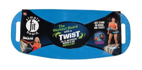 Simply Fit Unisex-Erwachsene ab Toner Workout Balance Board 1size
