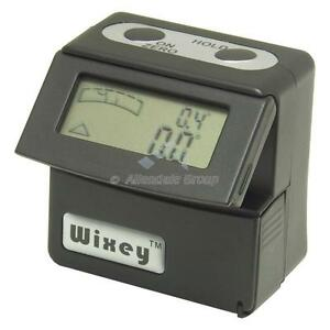 Digital-Angle-Gauge-Inclinometer-Spirit-Level-Box-Flip-Up-Display-Machine-DRO