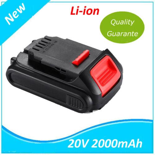 20V 2000mah Batterie pour Drill DeWalt DCB180 DCF885 DCD780 DCS380 DCS391 DCD740
