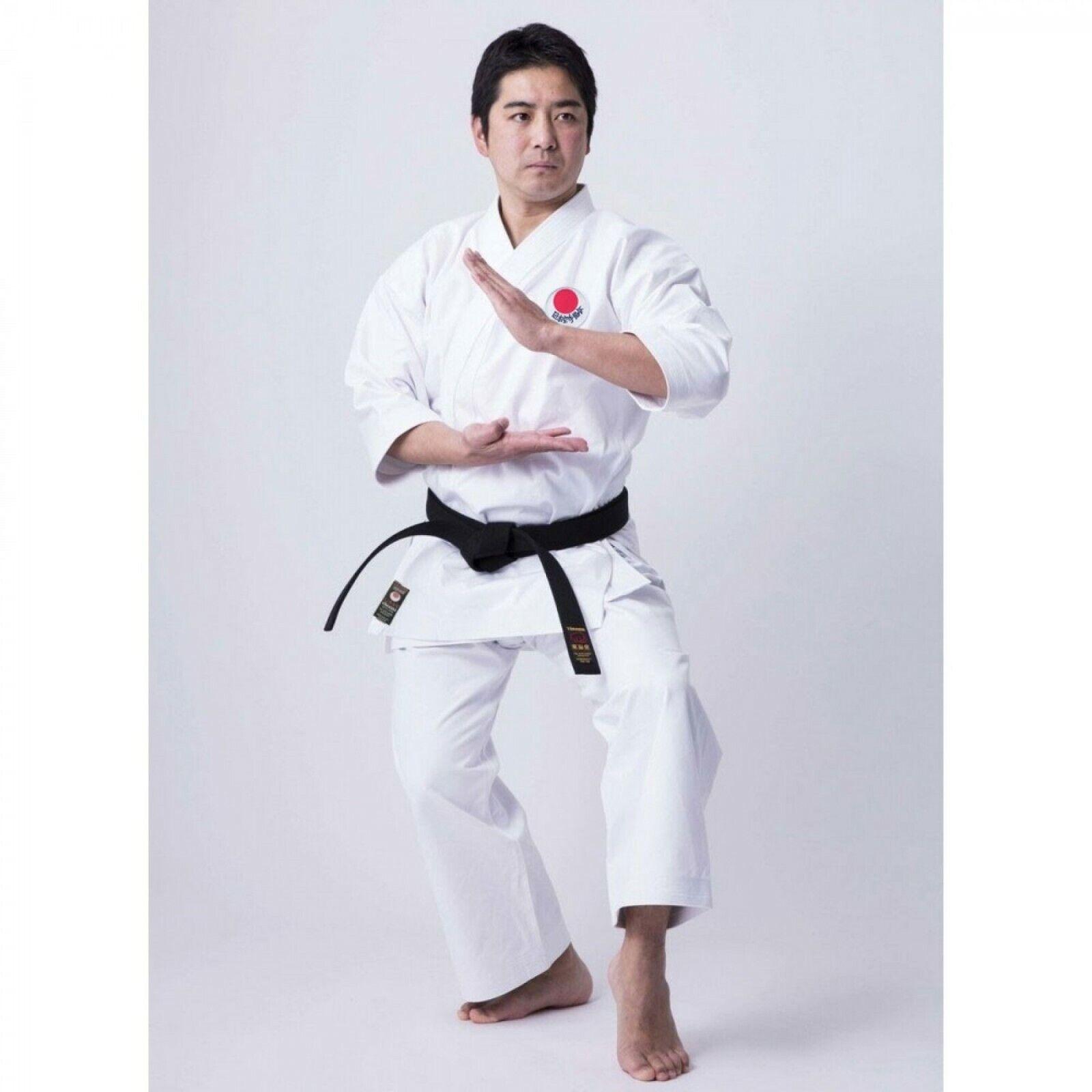 TOKAIDO JKA MIDDLEWEIGHT KATA GI, 10OZ JAPANESE CUT - IZUMO KTW w  JKA Patch