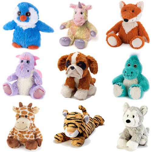 Intelex Warmies Cozy Heatable Plush Soft Toy Microwaveable Cosy Plush Animals