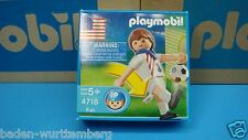 Playmobil 4716 USA soccer player for collectors mint in Box New sport 109