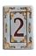 miniature 2 - NUMERO CIVICO DA ESTERNO IN CERAMICA PERSONALIZZABILE 100% MADE IN ITALY