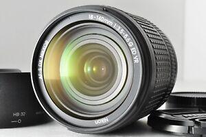 [MINT!] Nikon AF-S NIKKOR 18-140mm F3.5-5.6 G ED DX VR with Hood Ship from JAPAN