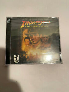 LucasArts Indiana Jones and the Emperor's Tomb PC Game CD Rom 2003 NEW SEALED