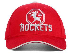Image is loading Houston-Rockets-Adidas-NBA-Red-Gray-Trucker-Snapback- 384036cf9