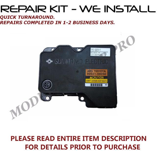 REPAIR KIT for Toyota Sienna ABS Pump Control Module 2004 2005 2006 <WE INSTALL>