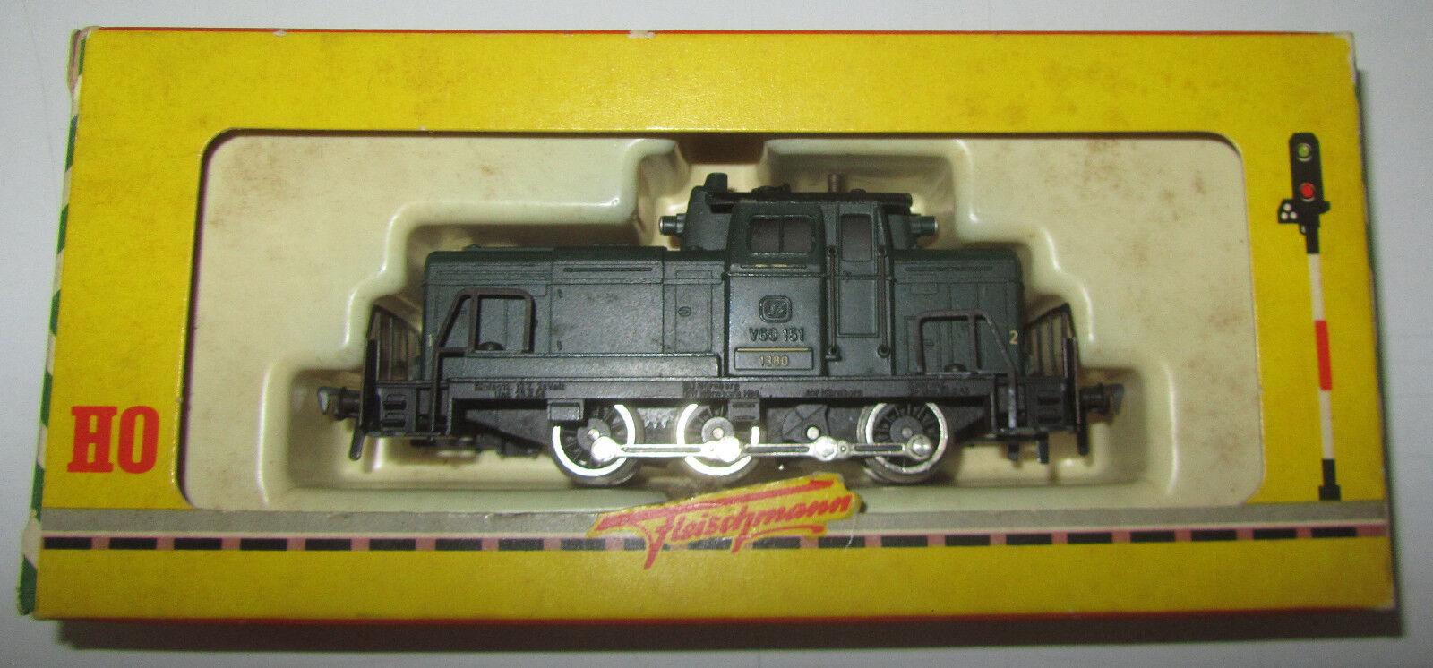 Locomotiva Fleischmann DB V60 151 art. 1380 F in box SPESE GRATIS