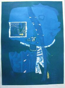 LOUIS-JAMES-AUSTRALIAN-LARGE-LITHOGRAPH-034-BY-PASS-034-1968-LTD-ED