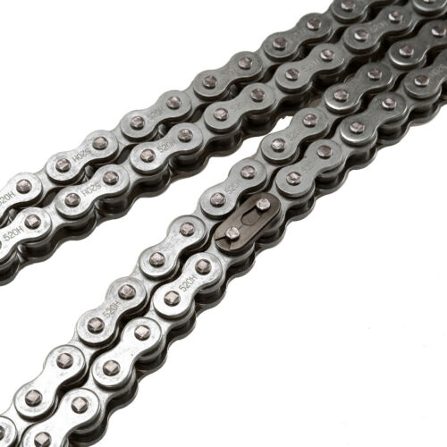 520X120 NON O-RING DRIVE CHAIN 520 PITCH 120 LINKS MASTER LINKS FOR DIRT BIKE