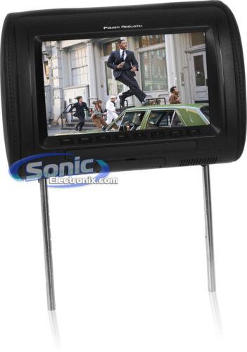 "Power Acoustik H-91CC 9/"" LCD Universal Headrest Monitor w// FM//IR Transmitter"