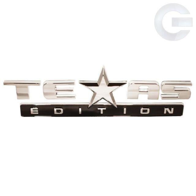 2007-2014 OEM GMC Sierra and Chevy Silverado Texas Edition Emblem