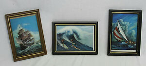 LOT OF 3 VINTAGE LENTICULAR STEREO POST CARDS OF HAWAII JAPAN TOPPAN