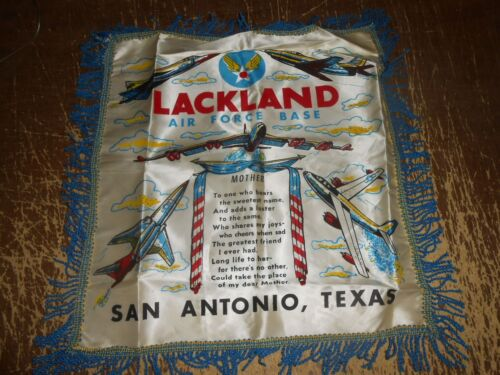 Vintage Lackland Air Force Base Silk ow