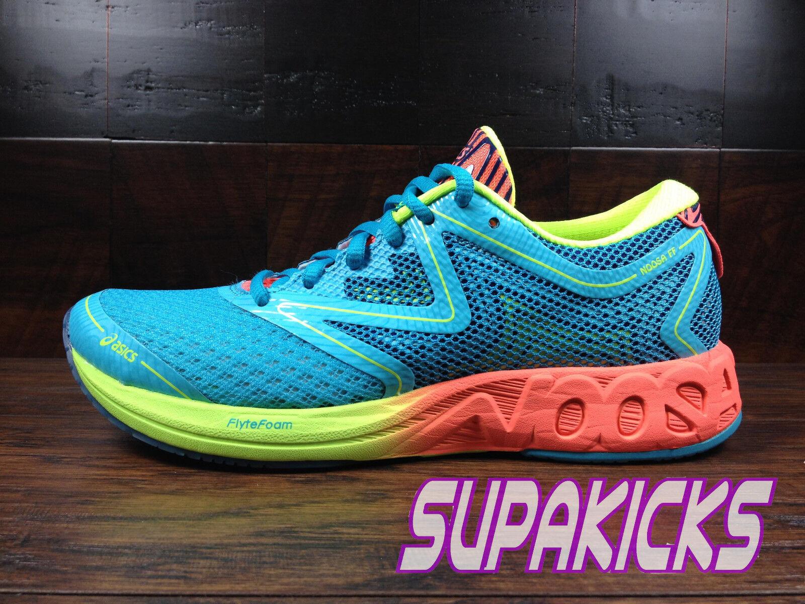 Asics Noosa FF (T772N-3906) (Aqua Coral Yellow) Triathlon Running Womens 6-11