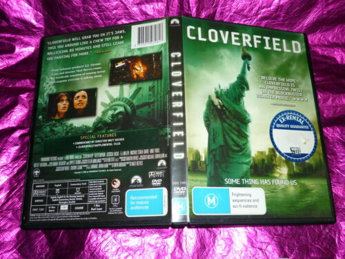 1 of 1 - CLOVERFIELD : (DVD, M) (EX RENTAL)